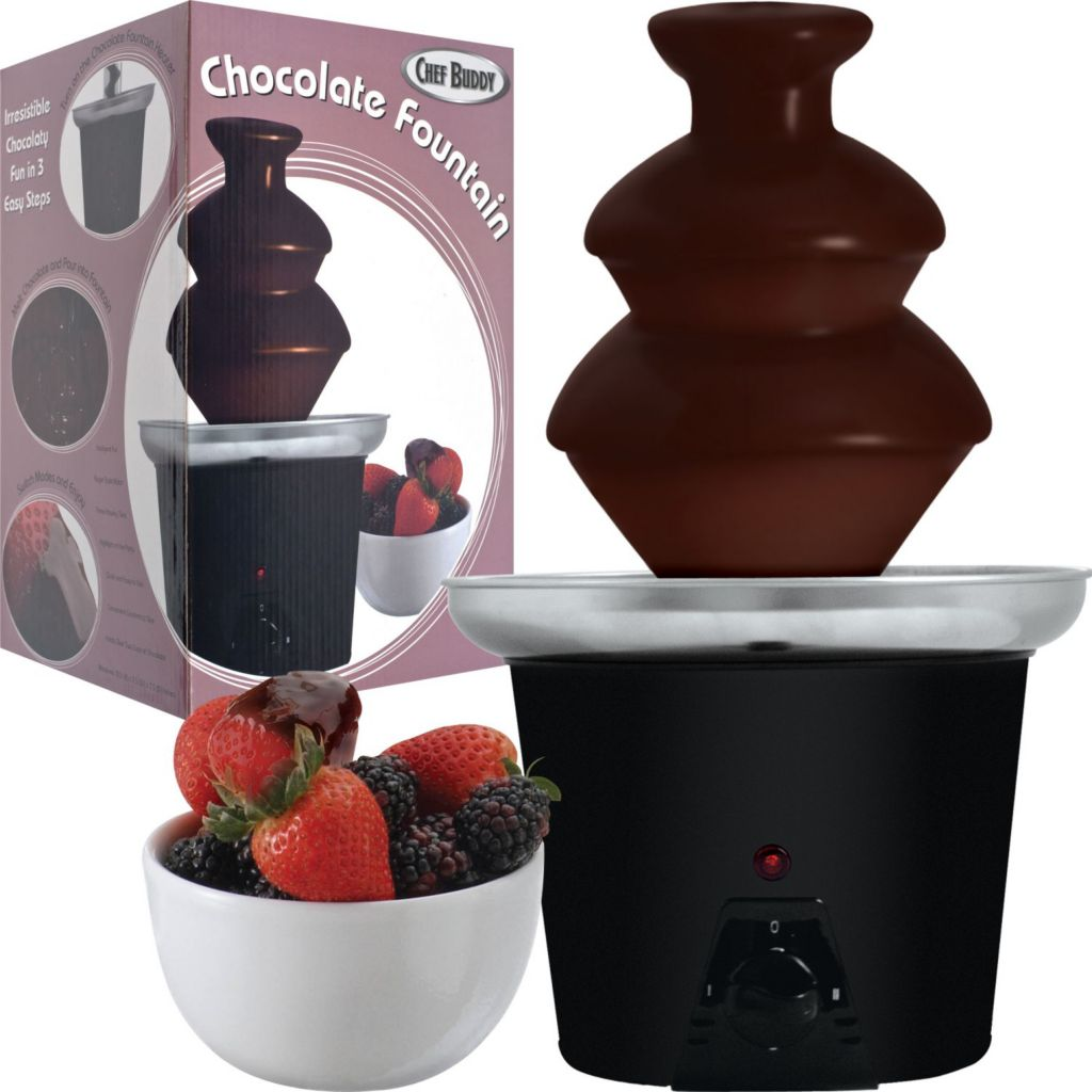 437-877 - Chef Buddy™ Three Tier Chocolate Fountain
