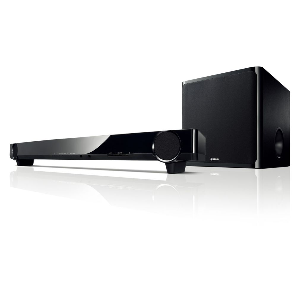 437-884 - Yamaha Powered Soundbar w/ Wireless Subwoofer
