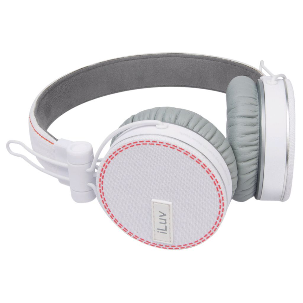 437-901 - iLuv Over-the-Ear Headphones w/ Microphone