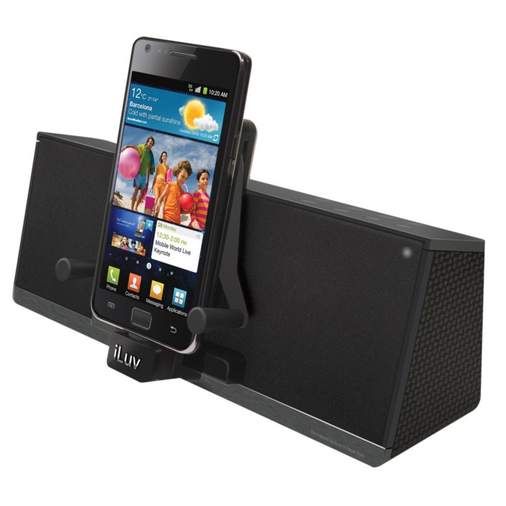 437-902 - iLuv Bluetooth® Speaker Dock