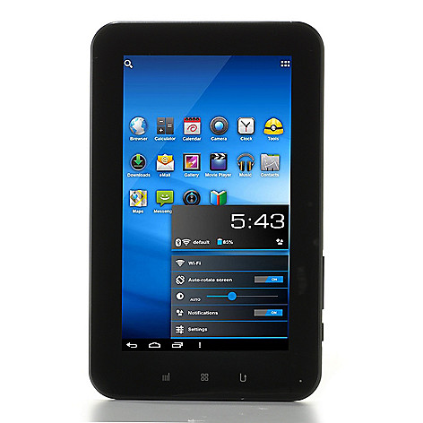 437-930 - Zeki 7'' TFT Multi-Touch Android™ 4.0 8GB Storage Wi-Fi Tablet