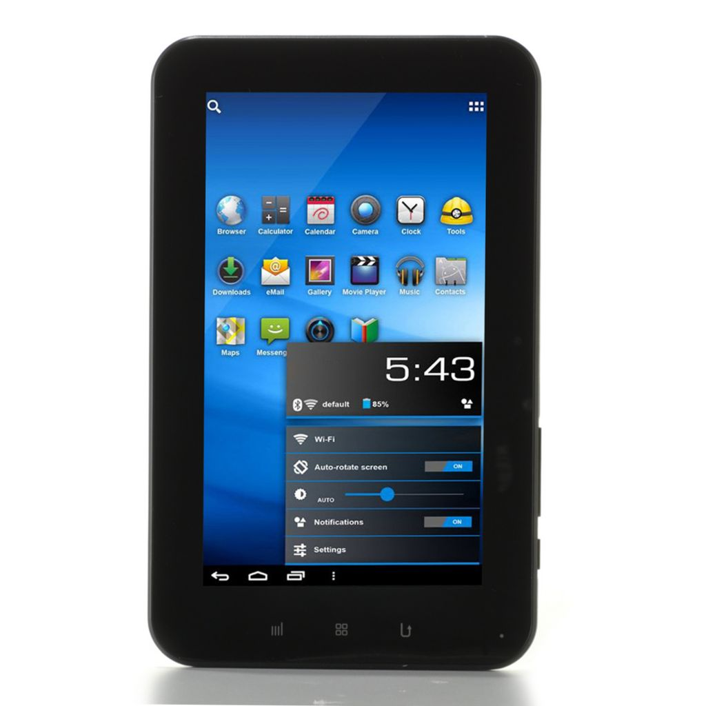 "437-930 - Zeki 7"" TFT Multi-Touch Android™ 4.0 8GB Storage Wi-Fi Tablet"