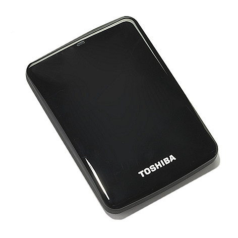 437-931 - Toshiba Canvio® Connect Portable Hard Drive for Mac or PC