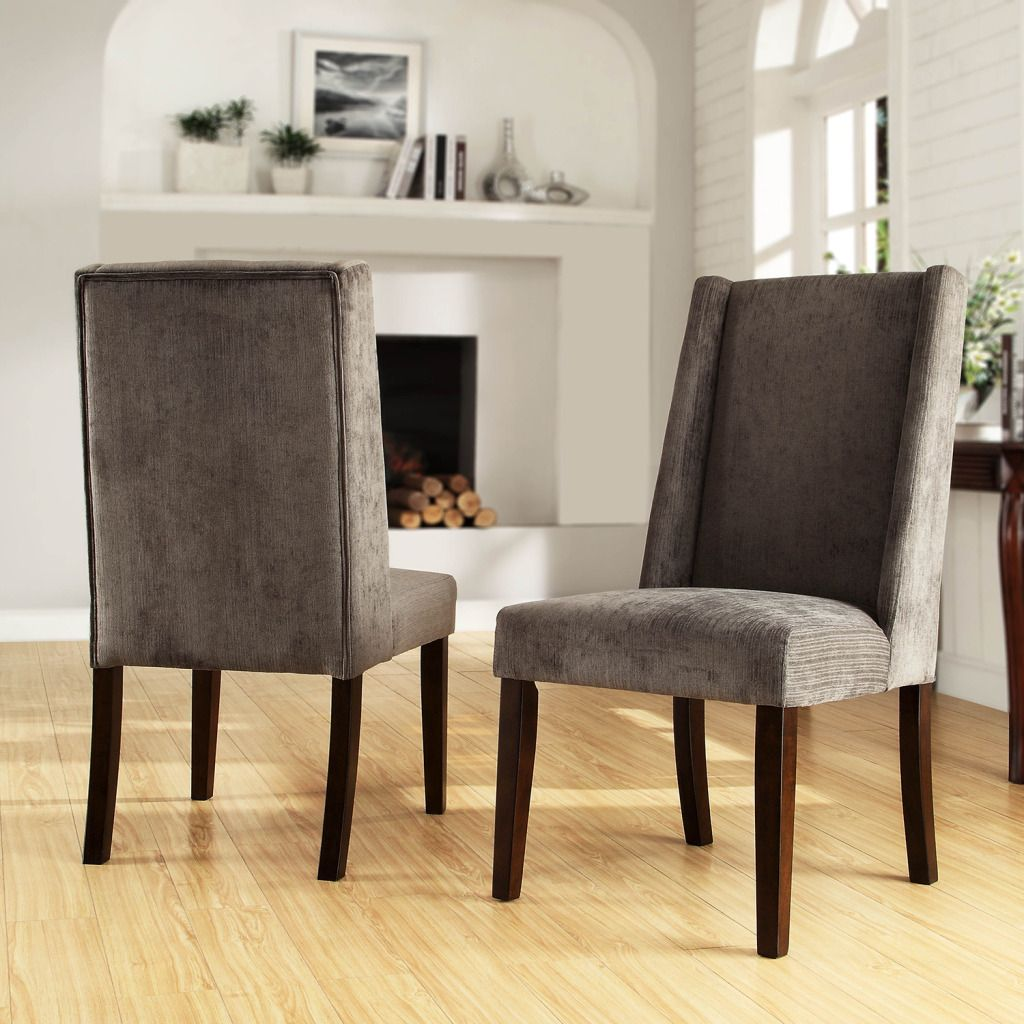 437-955 - HomeBasica Abbeyton Set of Two Wingback Chairs