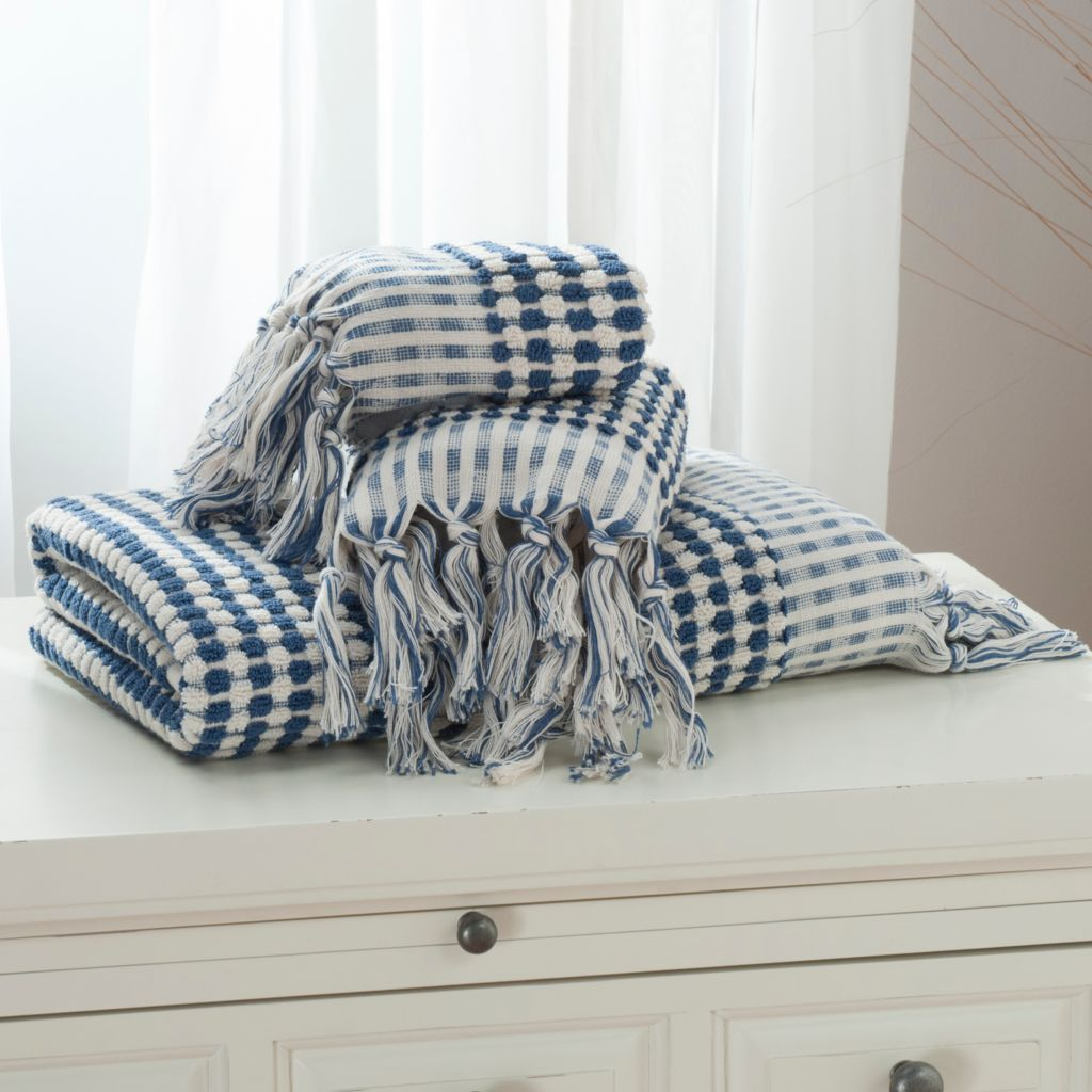 437-968 - Grand Suites® Turkish Cotton Jacquard Terry Three-Piece Towel Set