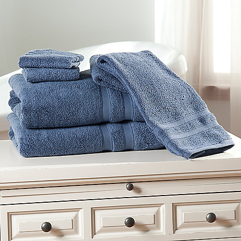 437-981 - Cozelle® Microcotton® Six-Piece Towel Set