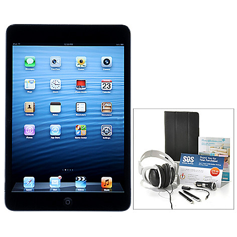 437-999 - Apple® iPad® Mini 7.9'' LED Touch Tablet w/ Seven-Piece Accessories Kit & Gift Certificates