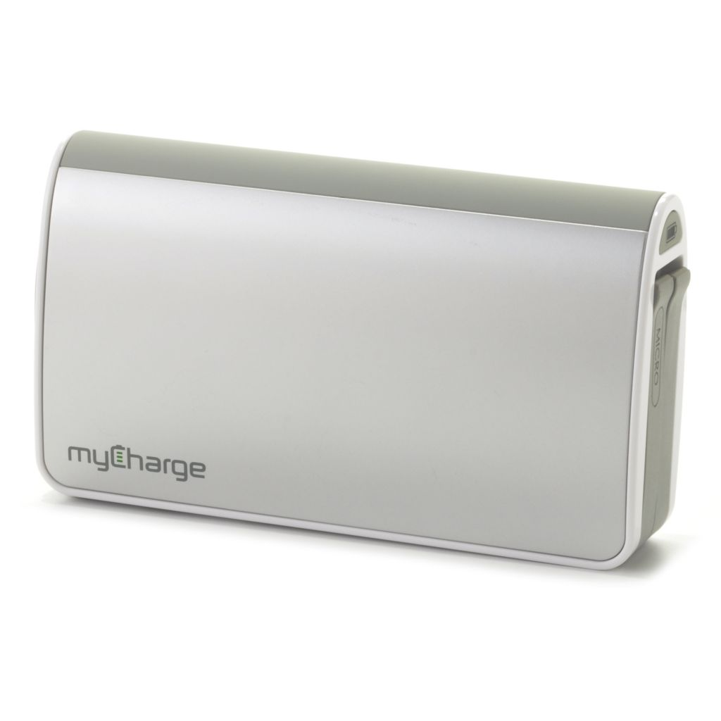 438-031 - myCharge® 9000mAh Portable Charger w/ USB Port, Micro USB & Lightning Connector