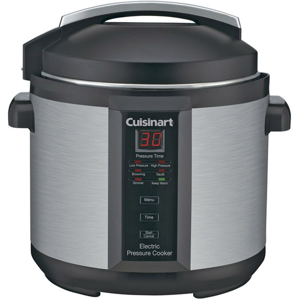 438-034 - Cusinart® Six-Quart 1000-Watt Electric Pressure Cooker