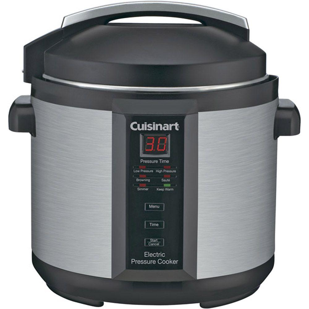 438-034 - Cuisinart®1000W Electric 6 qt Pressure Cooker
