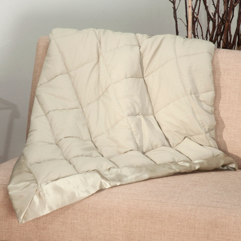 "438-070 - Cozelle® 60"" x 50"" Microfiber Embossed Throw"