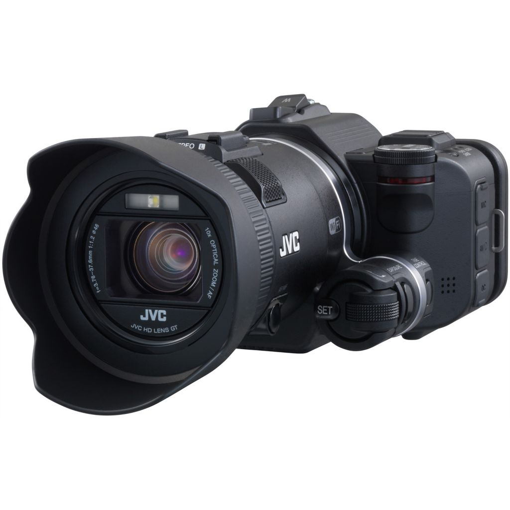 438-131 - JVC GC-PX100BUS HD Everio Black Camcorder with 200x Digital Zoom