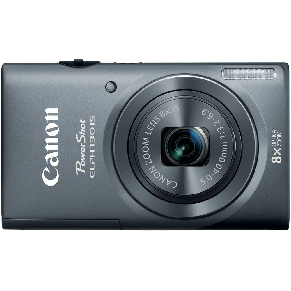 438-139 - Canon PowerShot ELPH 130 IS 16MP Digital Camera