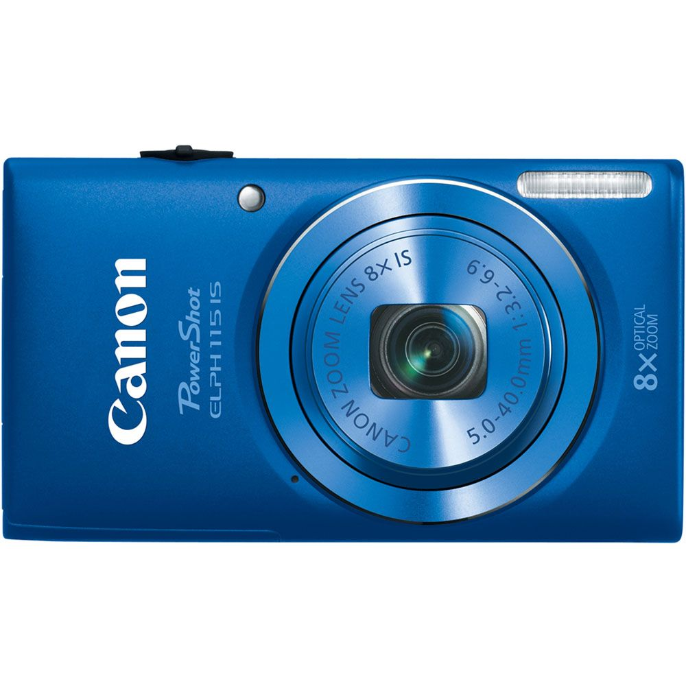 438-143 - Canon PowerShot ELPH 115 IS 16MP Digital Camera