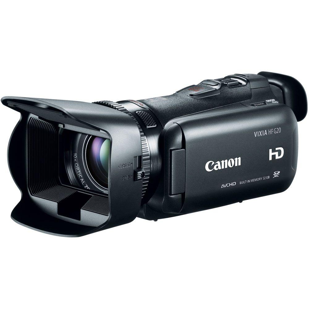 438-144 - Canon VIXIA HF G20 32GB Flash Memory Camcorder