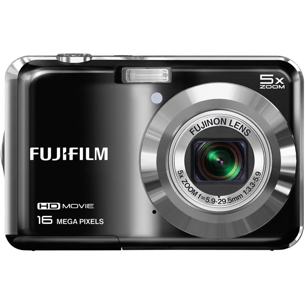 438-145 - Fujifilm FinePix AX650 16MP Black Digital Camera