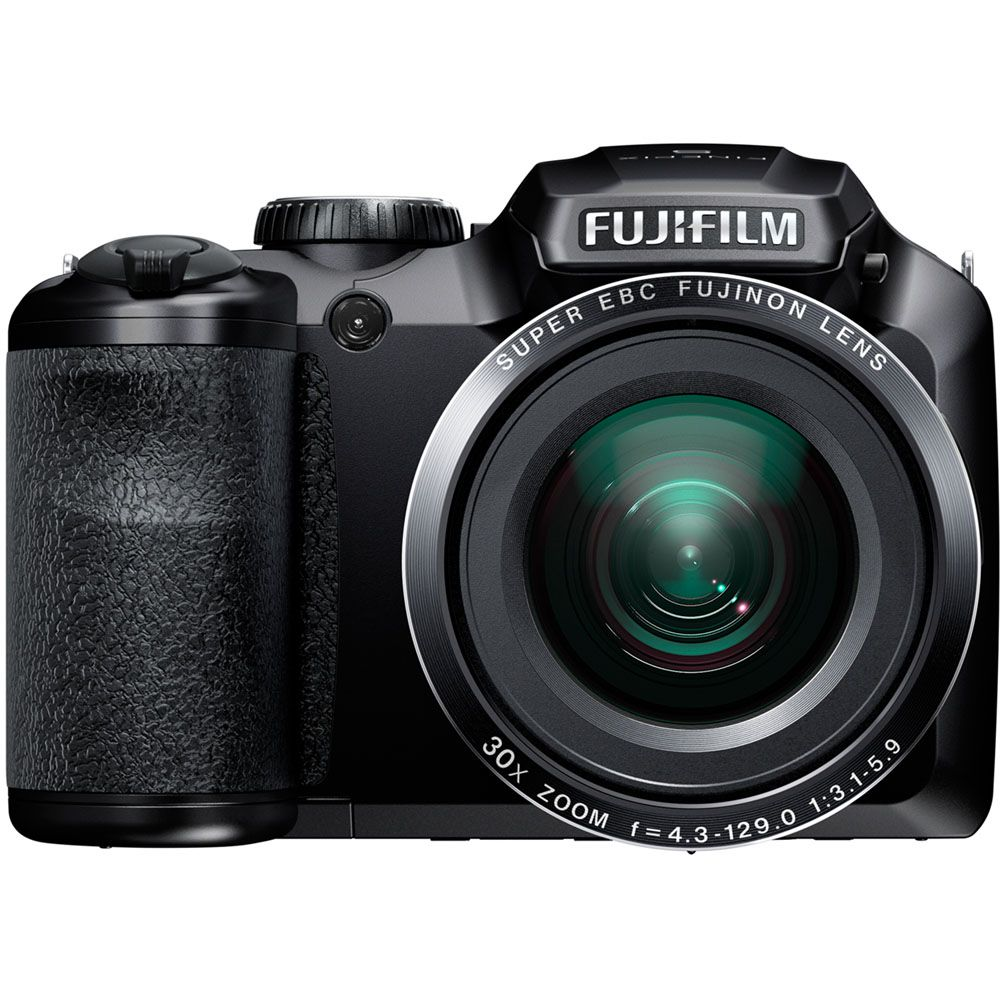 438-146 - Fujifilm FinePix S4800 16MP Black Digital Camera