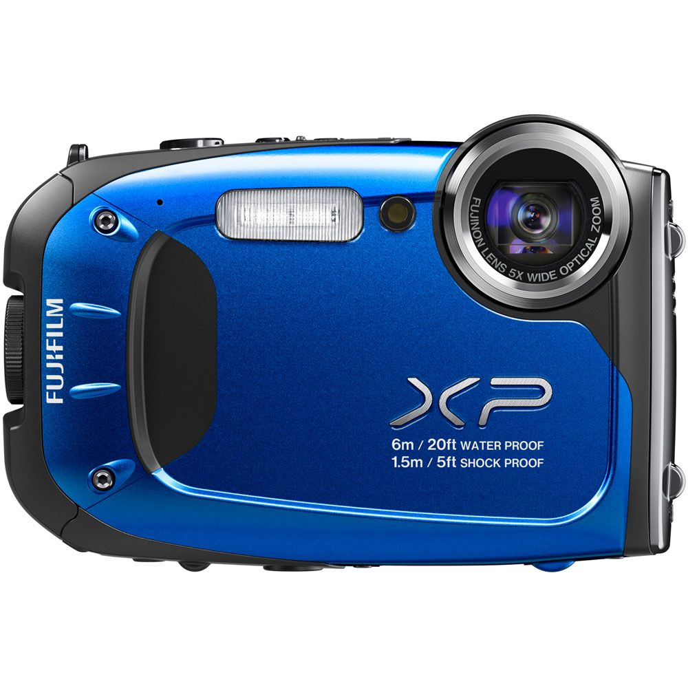 438-148 - Fujifilm  FinePix XP60 16MP Blue All-Weather Digital Camera