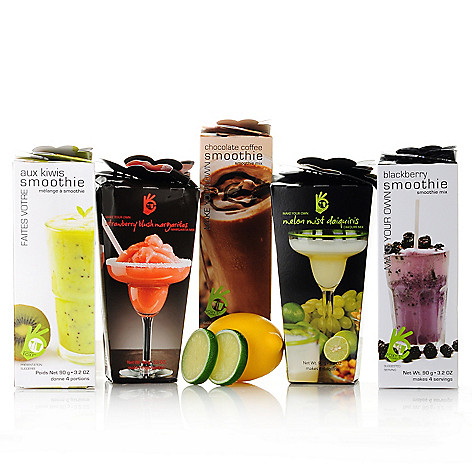 438-149 - Foxy's™ Gourmet Assorted Five-Piece Smoothie & Cocktail Mix Set
