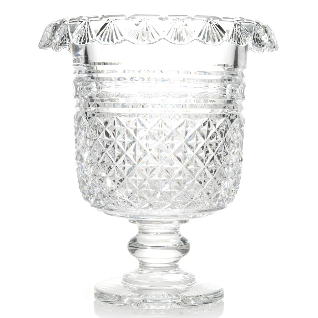 438-173 - House of Waterford® Museum Collection Part II Crystal Turnover Ice Pail - Limited Edition