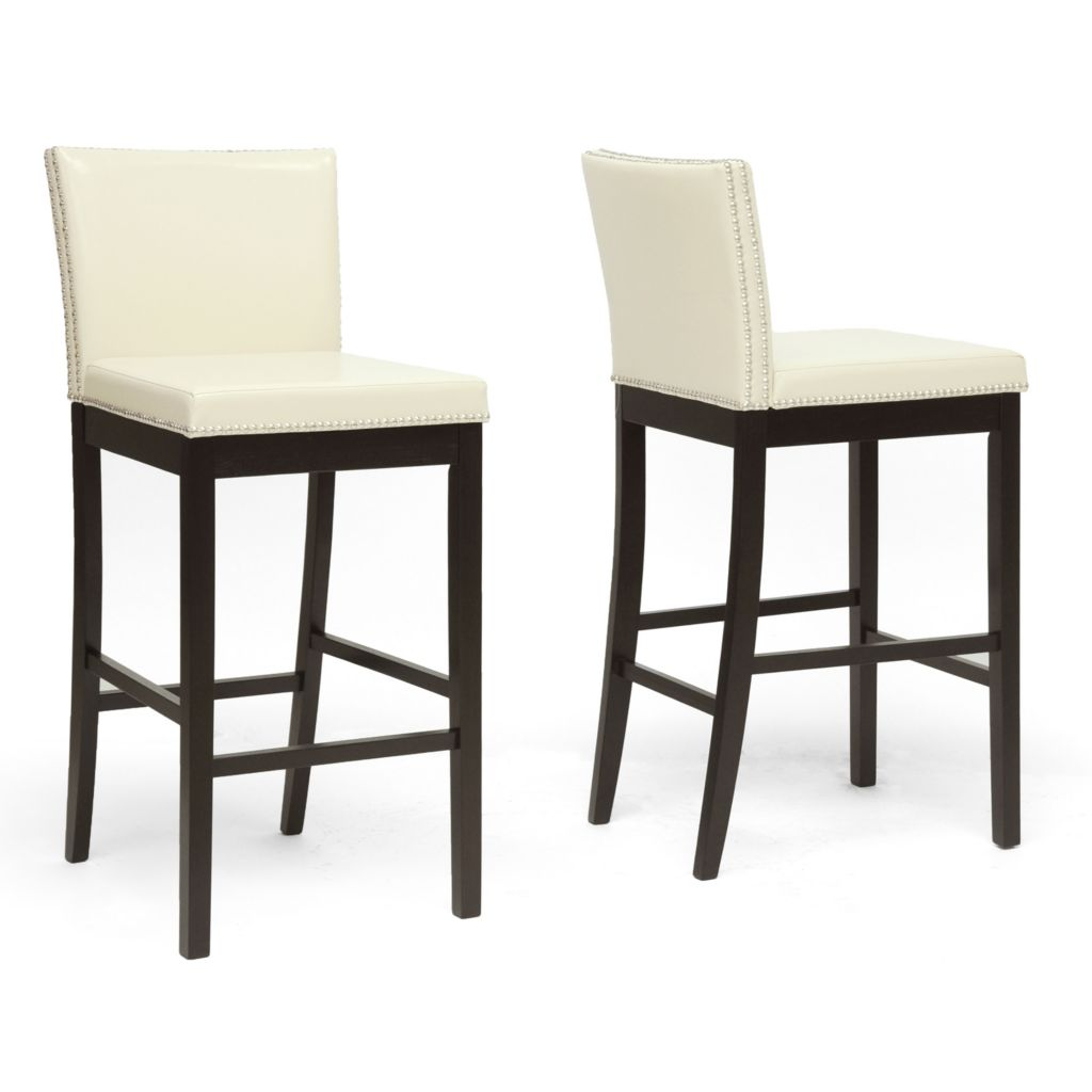 438-328 - Baxton Studio Graymoor Set of Two Bar Stools