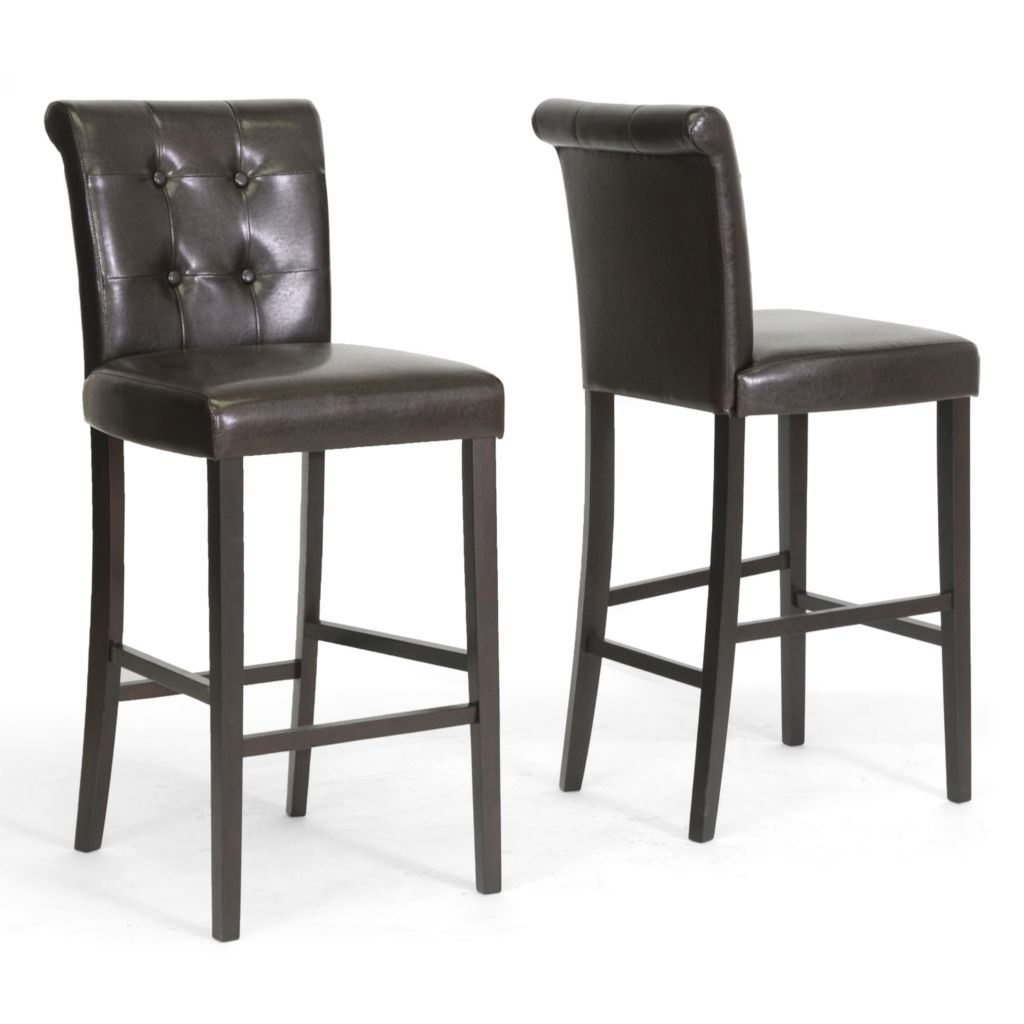 438-369 - Baxton Studio Torrington Bar Stools - Set of Two