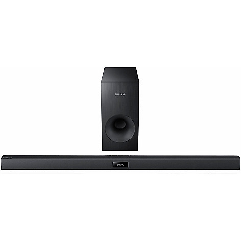 438-391 - Samsung 2.1 Channel 120W Soundbar w/ Wired Subwoofer