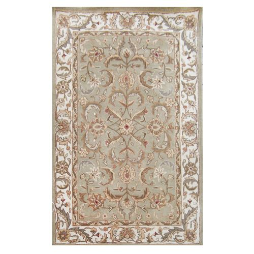 438-444 - Global Rug Gallery Hand-Tufted 100% Wool Persian-Style Rug