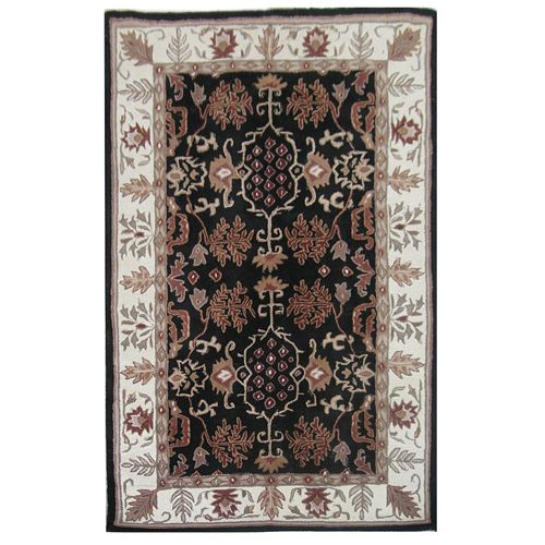 438-446 - Global Rug Gallery 5' x 8' or 8' x 10' Hand-Tufted 100% Wool Abstract Rug