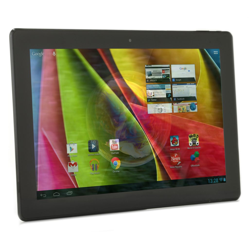 "438-449 - Archos FamilyPad 2 Google Certified 13.3"" Android™ 4.1 8GB Tablet w/ 27-Title App Suite"
