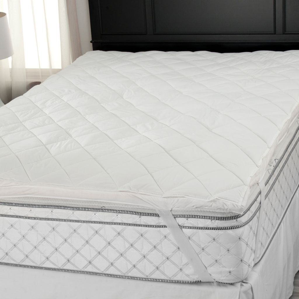438-465 - Cozelle® 233TC Cotton Nano-Tex® Removable Top Mattress Topper