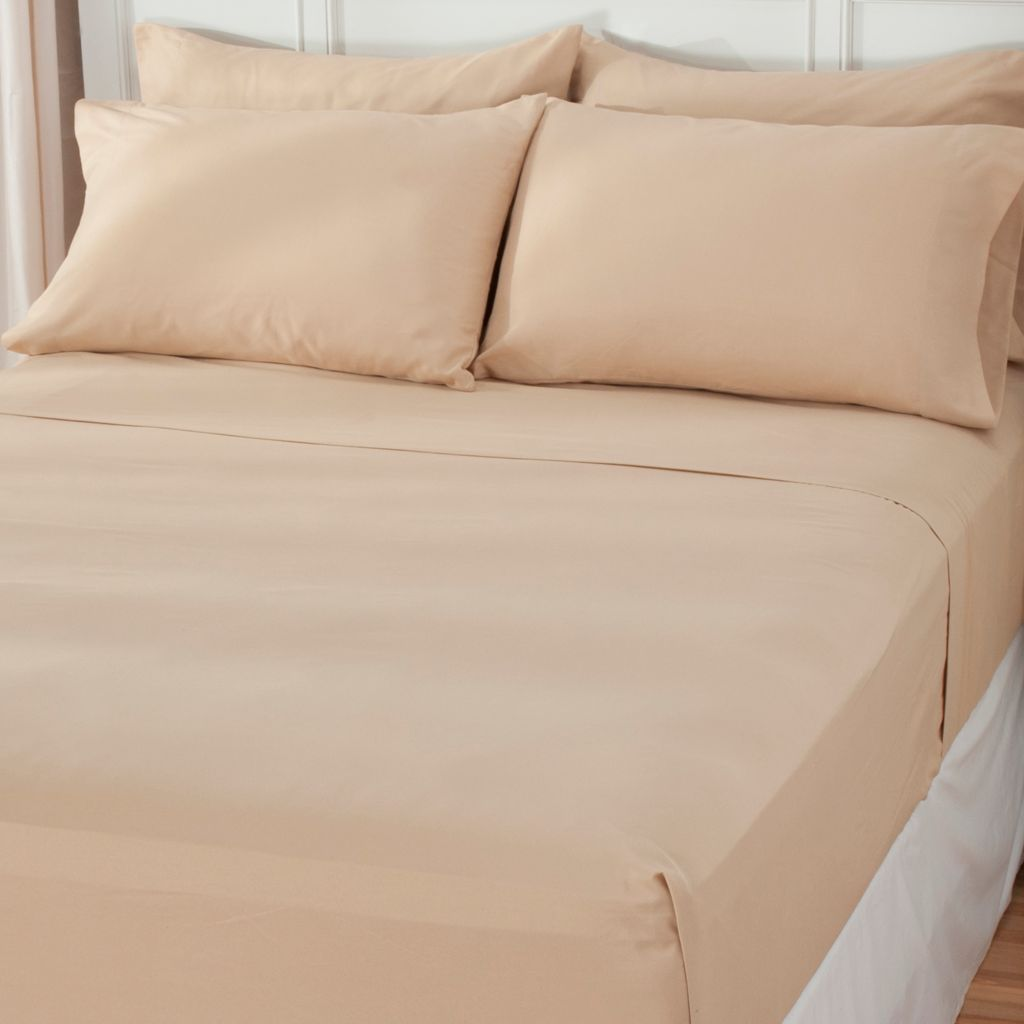 438-474 - Cozelle® Microfiber Six-Piece Sheet Set