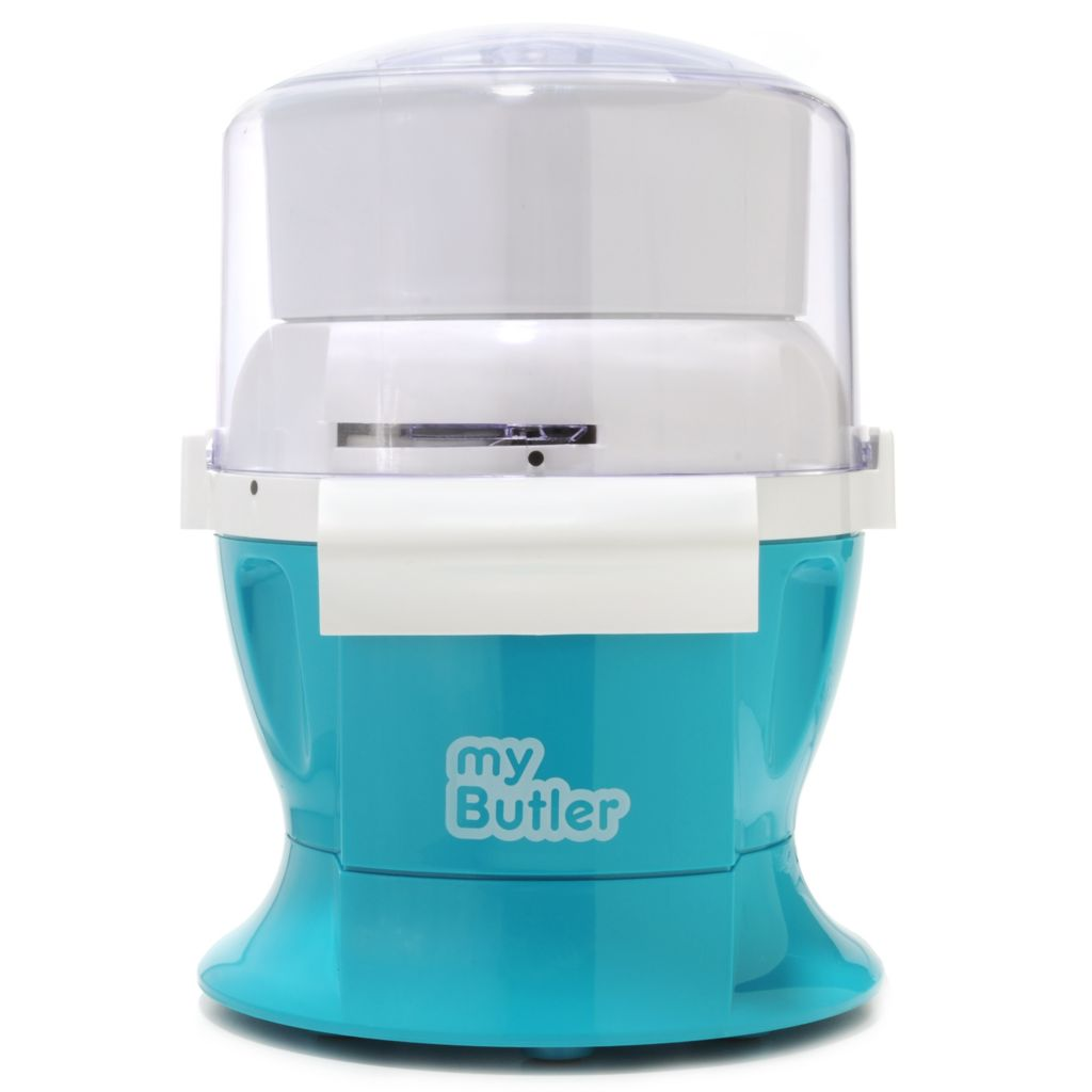 438-518 - My Butler 600W 4-in-1 Mixer, Ice Cream Maker, Coffee Grinder & Food Processor
