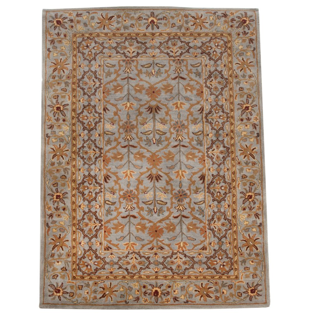 438-551 - Bashian Rugs Arts & Crafts Style Hand-Tufted 100% Wool Rug