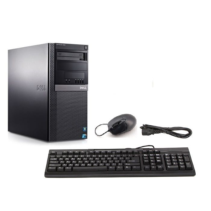 438-657 - Dell Optiplex 960T Core 2 Duo 3.0Ghz 2GB 160GB Desktop Computer - Refurbished