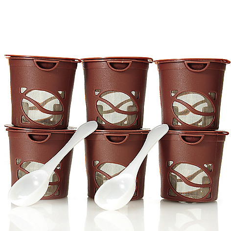 438-675 - Gourmet Trends™ Set of Six Reusable Single Brewing Coffee Filters
