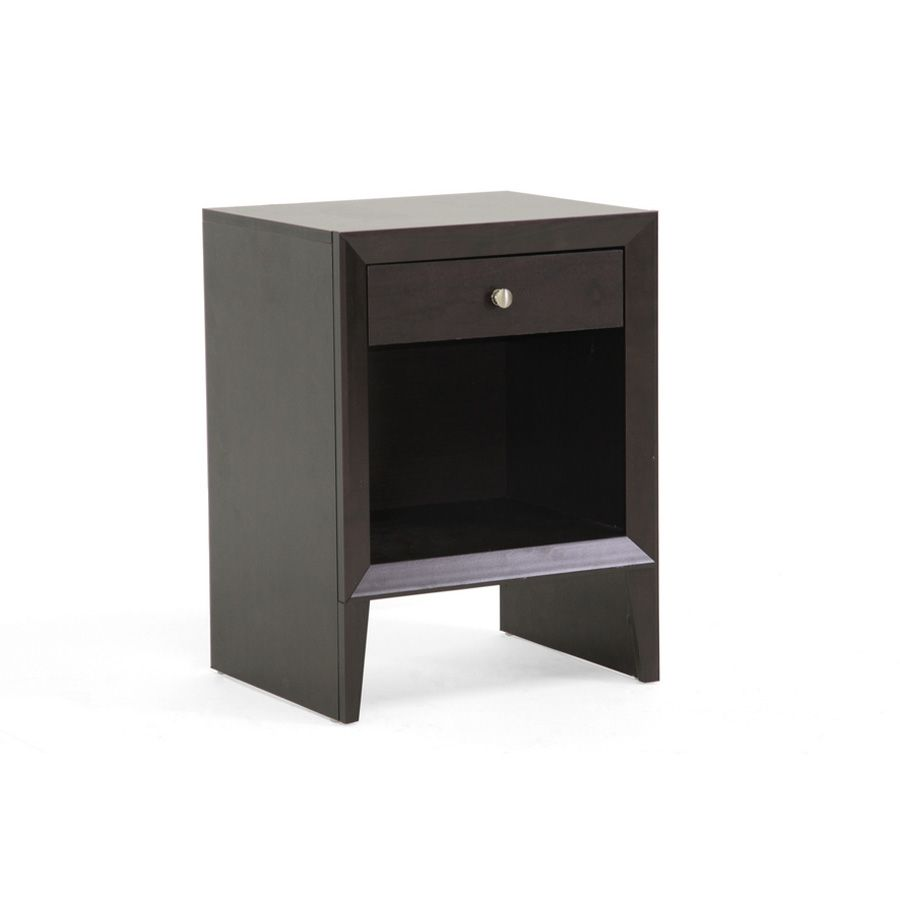 438-683 - Leelanau Brown Modern Accent Table w/ Drawer