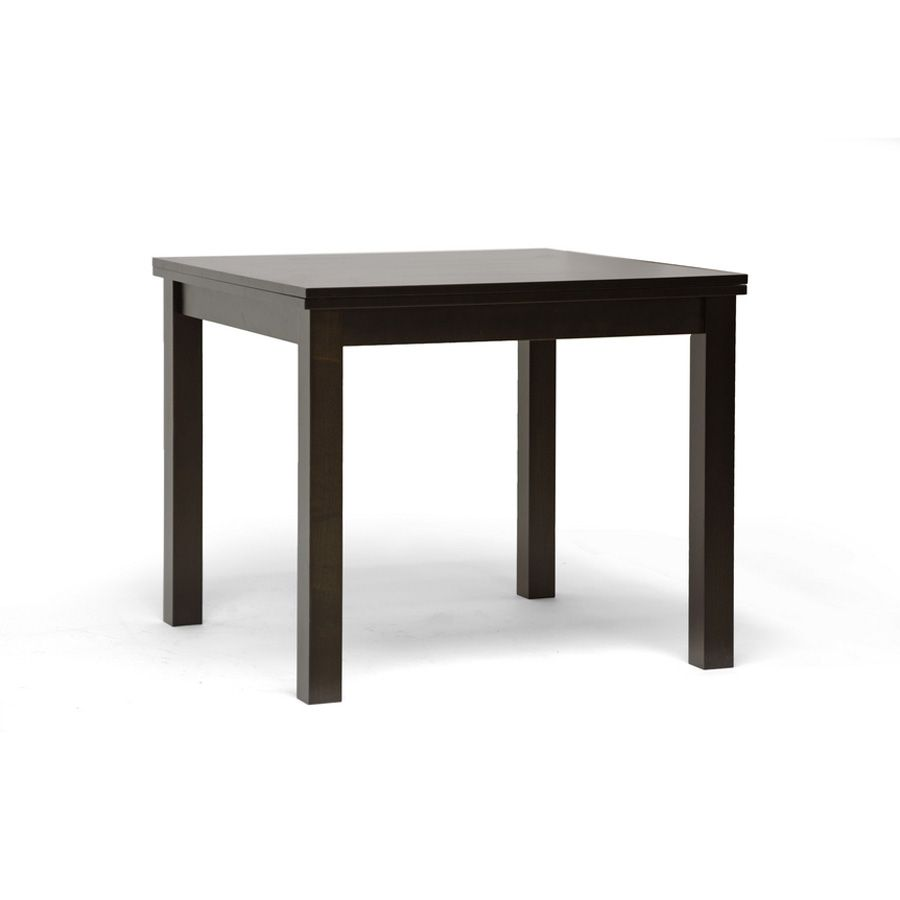 438-694 - Paxton Dark Brown Modern Extendable Dining Table