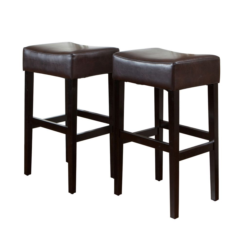 438-715 - Christopher Knight Home™ KD Backless Barstools - Set of Two