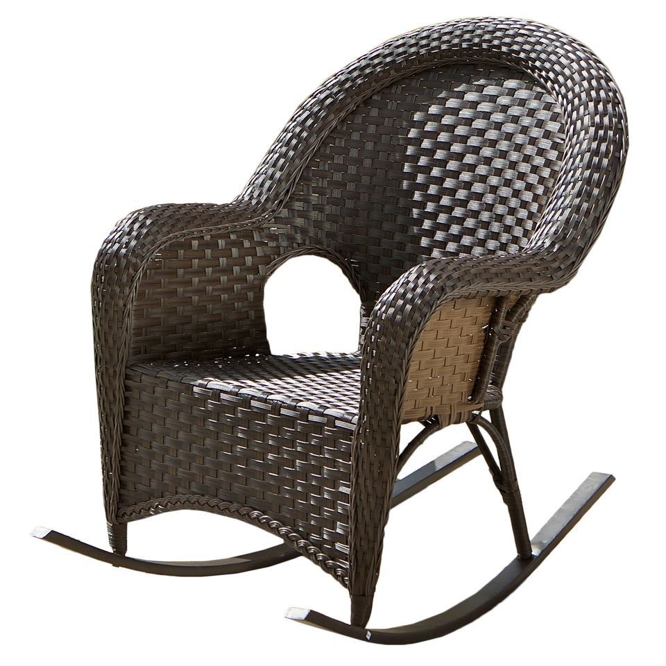 438-720 - Christopher Knight Home™ Woodlands Wicker Rocker