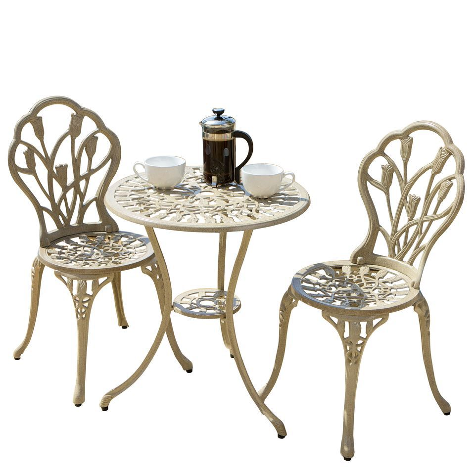 438-721 - Christopher Knight Home™ Nassau Sand Bistro Set
