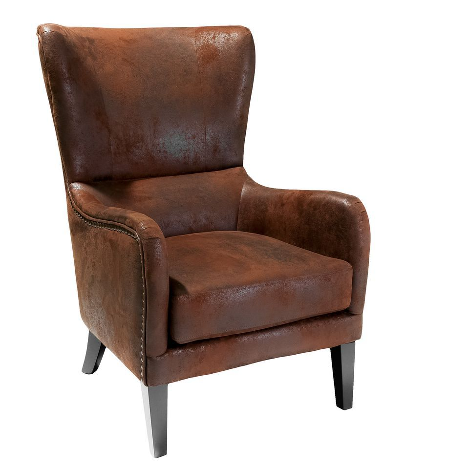 438-727 - Christopher Knight Home™ Lorenzo Fabric Studded Club Chair