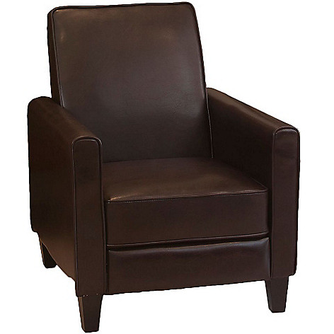 438-729 - Christopher Knight Home Leather Recliner Club Chair