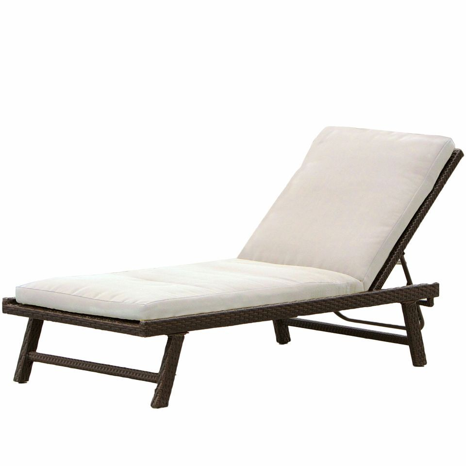 438-731 - Christopher Knight Home™ Waveland Adjustable Chaise Lounge w/ Cushion