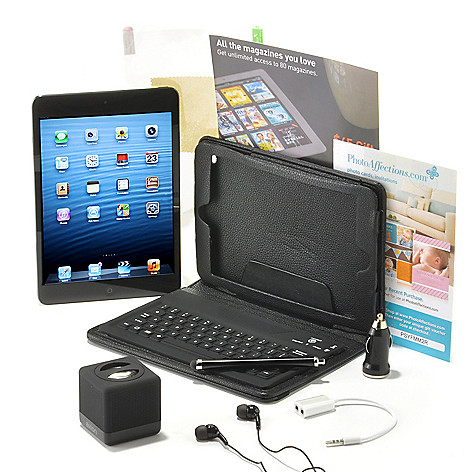 438-822 - Apple® iPad® Mini 7.9'' LED 64GB Wi-Fi Tablet w/ Bluetooth® Accessories Kit