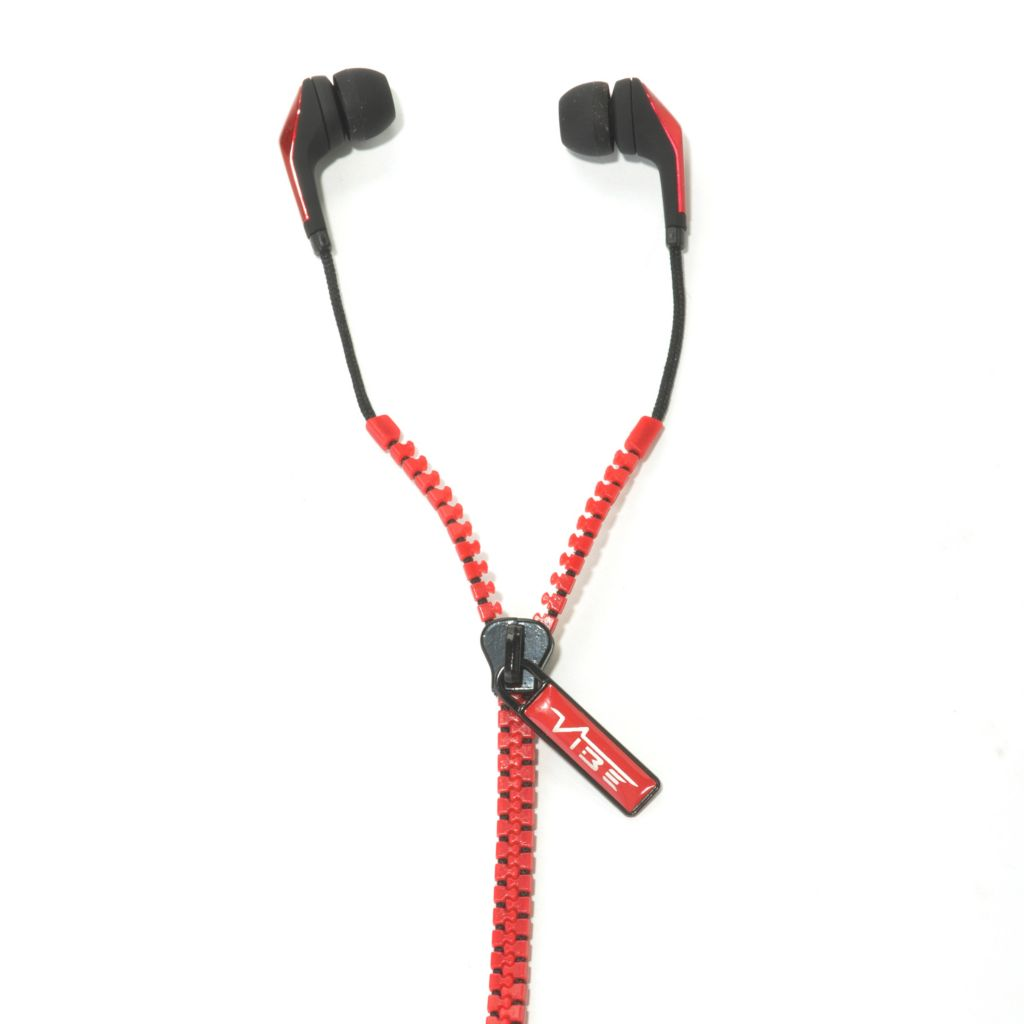 438-919 - Vibe Zip In-Ear Headphones w/ Zip Cable