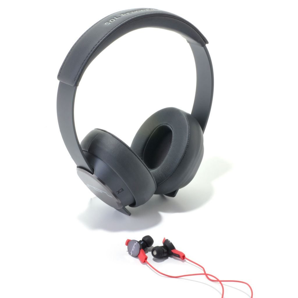 438-961 - SOL REPUBLIC® Master Tracks On-Ear Headphones w/ AMPs In-Ear Headphones