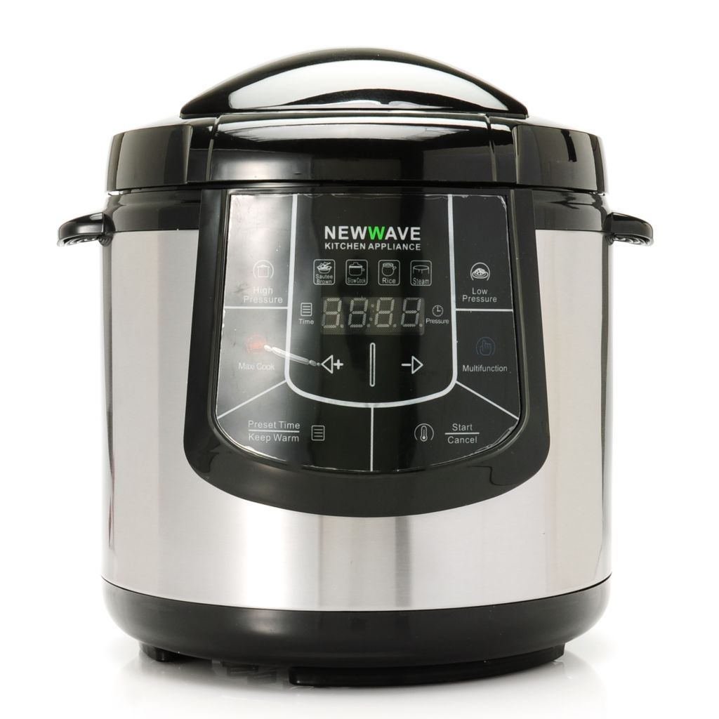 439-029 - Newwave 6 qt Stainless Steel Programmable 6-in-1 Electric Multi Cooker