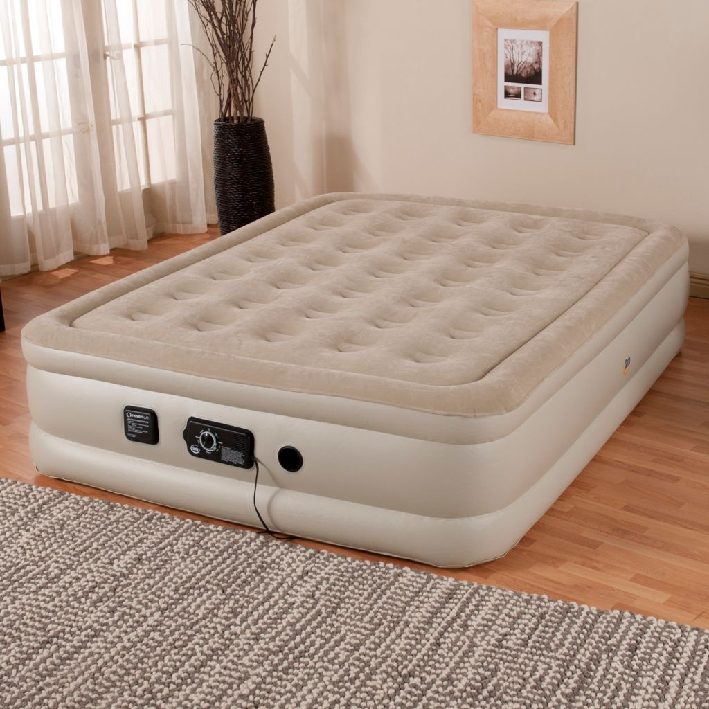 "439-034 - Serta® Perfect Sleeper® 18"" Profile Air Mattress w/ Never Flat™ Pump"