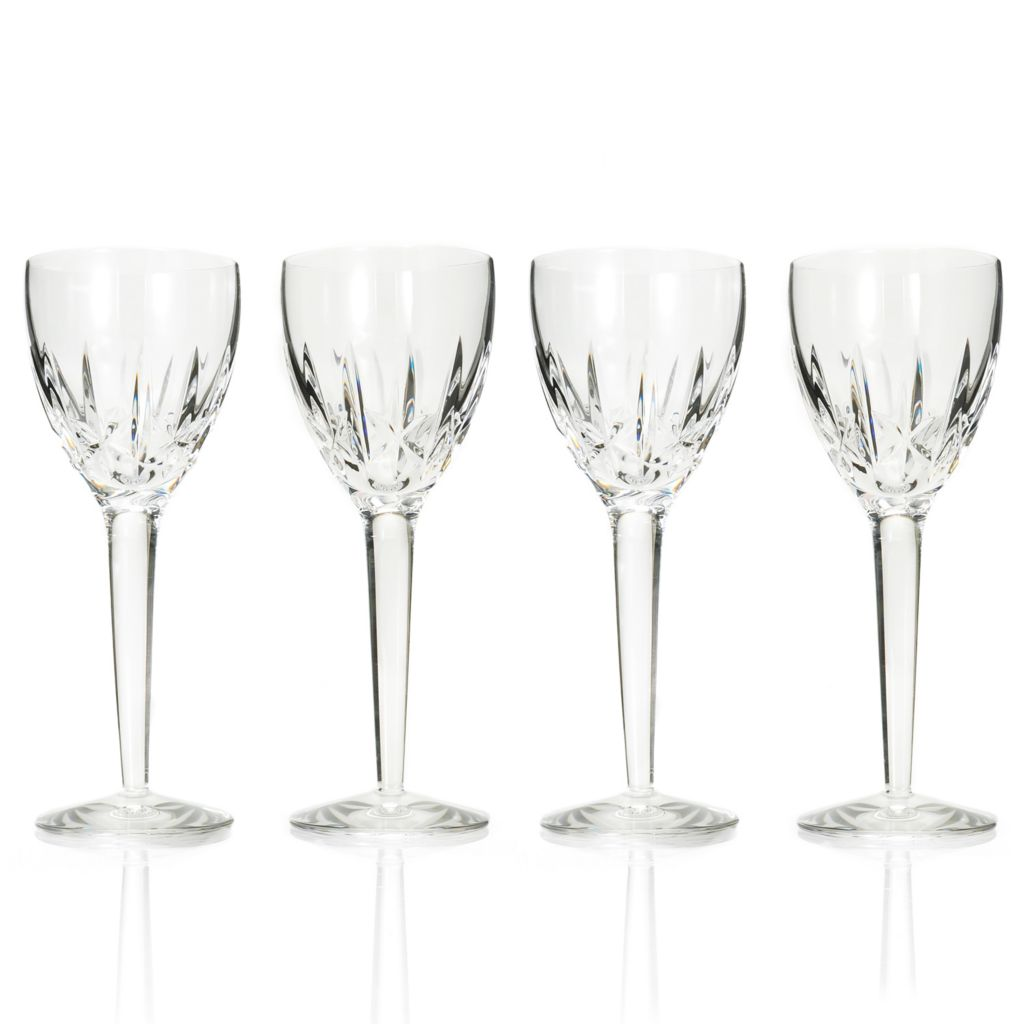 439-053 - Waterford® Crystal Sheryl White Set of Four 6 oz Wine Glasses
